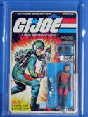 G I Joe ARAH Flash Swivel Arm AFA 80 Explosion Back 1983 20 Back RARE