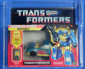 Transformers Nightbeat AFA Y-80 NM Headmaster MISB Generation 1 1987 Series 5